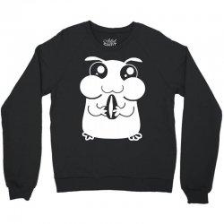 cute pet hamster Crewneck Sweatshirt   Artistshot