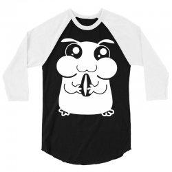 cute pet hamster 3/4 Sleeve Shirt   Artistshot