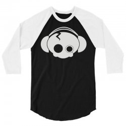 cute skull 3/4 Sleeve Shirt | Artistshot