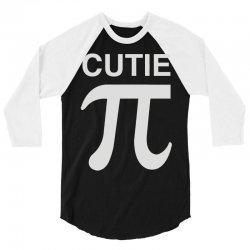 cutie pi 3/4 Sleeve Shirt | Artistshot