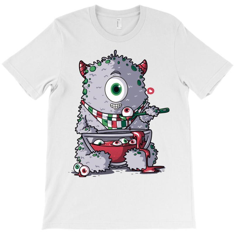 Cyclops Loves Eyeball Soup T-shirt   Artistshot