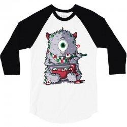 cyclops loves eyeball soup 3/4 Sleeve Shirt   Artistshot