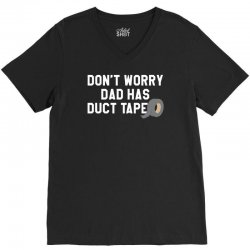 dad has duct tape V-Neck Tee | Artistshot