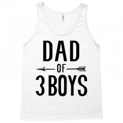 dad of 3 boys Tank Top | Artistshot