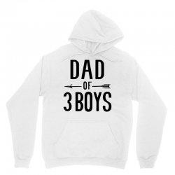 dad of 3 boys Unisex Hoodie | Artistshot