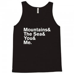It's Only Mountains & Sea & Prince & Me Tank Top | Artistshot