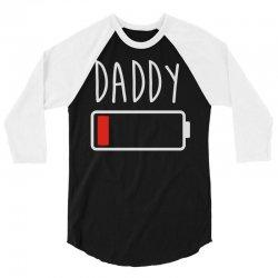 daddy low battery 3/4 Sleeve Shirt | Artistshot