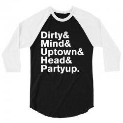 Homage to Prince Dirty Mind Album & Tracks 3/4 Sleeve Shirt | Artistshot