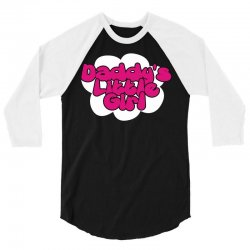 daddy's little girl 3/4 Sleeve Shirt | Artistshot