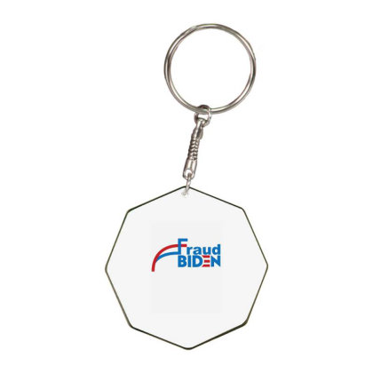 Voter Fraud 2020 1 Octagon Keychain Designed By Kakashop