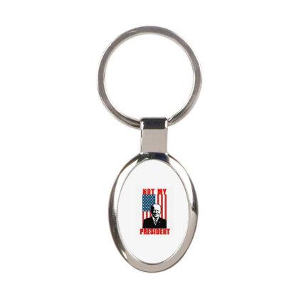 Joe Biden Not My President Oval Keychain Designed By Kakashop