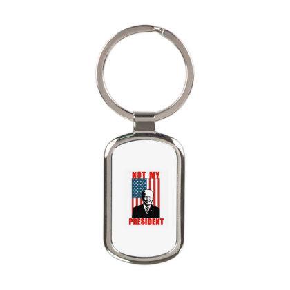 Joe Biden Not My President Rectangle Keychain Designed By Kakashop