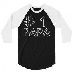 dad's papa's 3/4 Sleeve Shirt | Artistshot