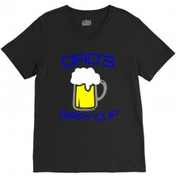 dad's sippy cup V-Neck Tee | Artistshot