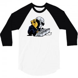 daft nuts 3/4 Sleeve Shirt   Artistshot