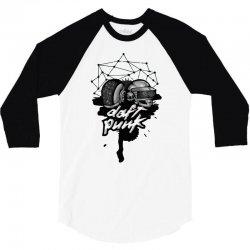 daft punk helmet 3/4 Sleeve Shirt | Artistshot