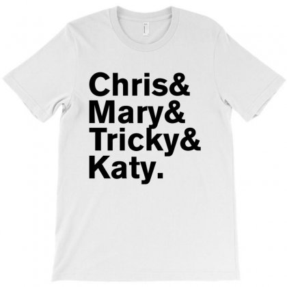 Christopher Tracy & Tricky & Mary Sharon Threads T-shirt Designed By Rardesign