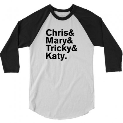 Christopher Tracy & Tricky & Mary Sharon Threads 3/4 Sleeve Shirt Designed By Rardesign