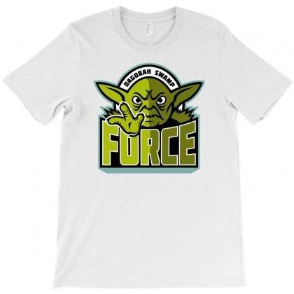 Dagobah Swamp Force T-shirt Designed By Monstore