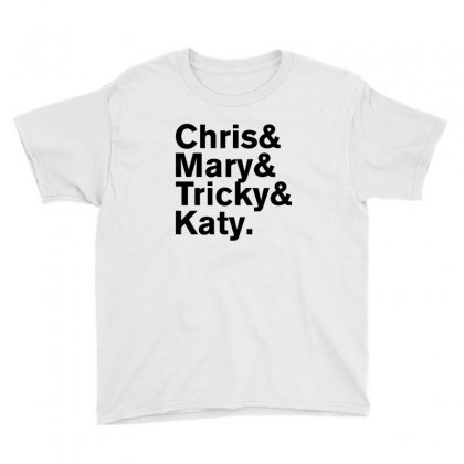 Christopher Tracy & Tricky & Mary Sharon Threads Youth Tee Designed By Rardesign
