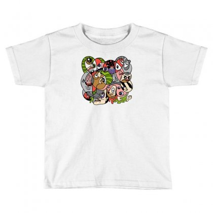 Daily Drawing Toddler T-shirt Designed By Monstore