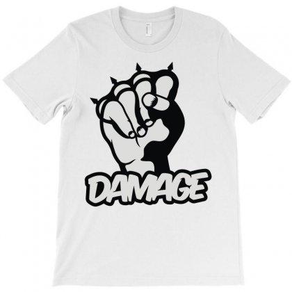 Damage T-shirt Designed By Monstore