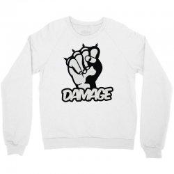 damage Crewneck Sweatshirt | Artistshot