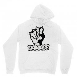 damage Unisex Hoodie | Artistshot
