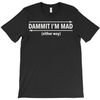 Dammit Palindrome T-shirt Designed By Monstore