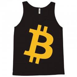 Bitcoin Logo Tank Top   Artistshot