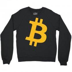 Bitcoin Logo Crewneck Sweatshirt   Artistshot
