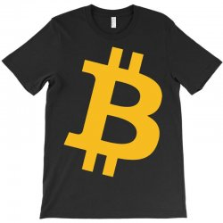 Bitcoin Logo T-Shirt   Artistshot