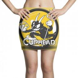 Cuphead Bros Mini Skirts   Artistshot