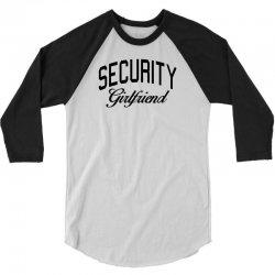 security girlfriend 3/4 Sleeve Shirt | Artistshot