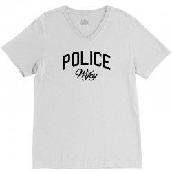police wifey V-Neck Tee | Artistshot