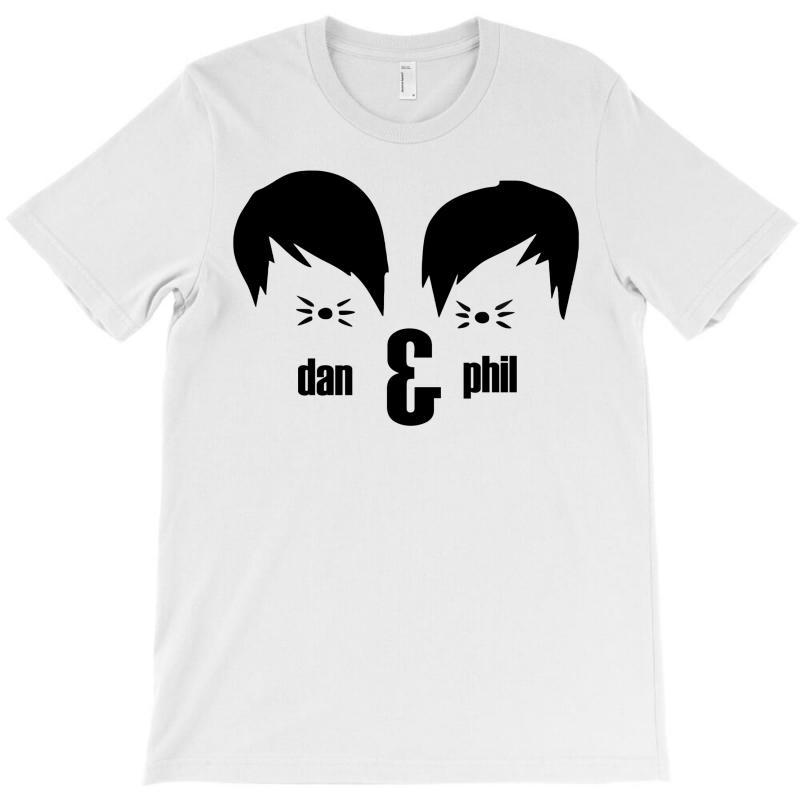 Dan And Phil T-shirt | Artistshot