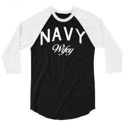 navy wifey w 3/4 Sleeve Shirt | Artistshot