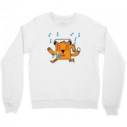 dancing cat Crewneck Sweatshirt | Artistshot