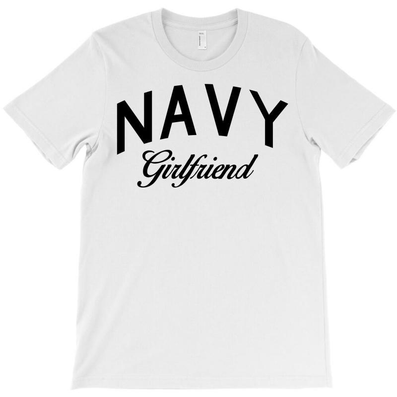 Navy Girlfriend T-shirt | Artistshot