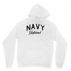 navy girlfriend Unisex Hoodie | Artistshot