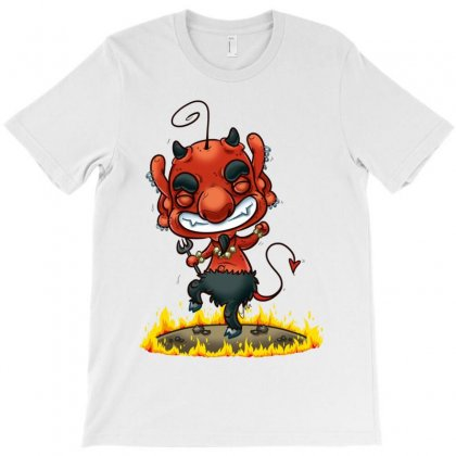 Dancing Devil T-shirt Designed By Monstore