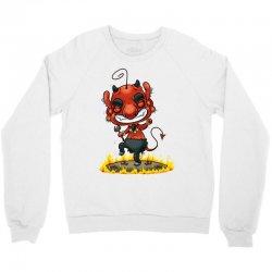 dancing devil Crewneck Sweatshirt   Artistshot