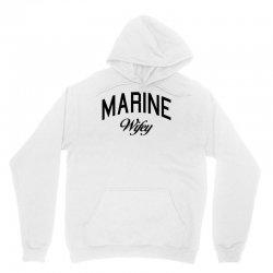 marine wifey Unisex Hoodie | Artistshot