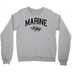 marine wifey Crewneck Sweatshirt | Artistshot