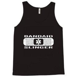 bandaid slinger Tank Top   Artistshot