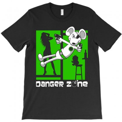 Danger Zone T-shirt Designed By Monstore