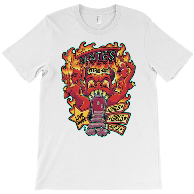 Dante's Inferno Room T-shirt   Artistshot