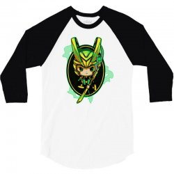 dark god 3/4 Sleeve Shirt   Artistshot