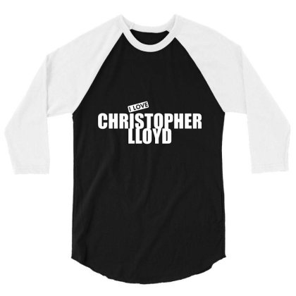 Christopher Lloyd 3/4 Sleeve Shirt Designed By Word Power