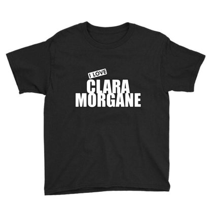 I Love Clara Morgane Youth Tee Designed By Word Power